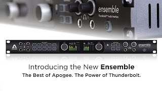 Learn more about Apogee Ensemble: http://www.apogeedigital.com/prod...