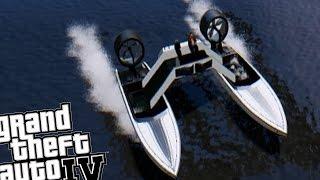 GTA IV - Jetmax Aero Katamaran (Cool Boat Mod)