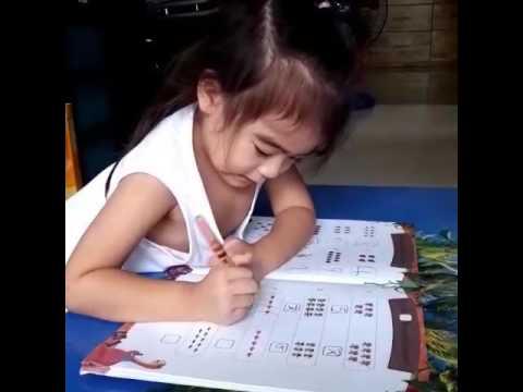 ทำแบบฝึกหัดเลข นับและเขียน 1-10