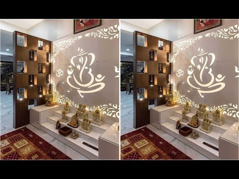 Latest Pooja Room Designs Indian Pooja Room Ideas Puja Room Decoration 2019 2020 Youtube