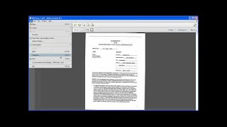 Getting Started:  Converting Scanned Documents into a PDF File