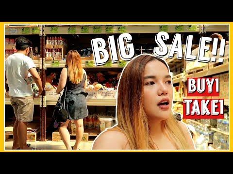 VLOG#41: GROCERY SHOPPING SA LANDERS + HAUL (BONGGA NG SALE!!!) | Philippines