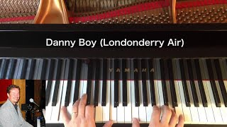 Danny Boy (Londonderry Air) - Traditional - Piano Cover видео