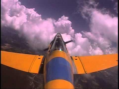 Me flying a Warbird T-6 Texan Part 1