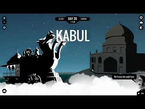 Let's Play 80 Days - Part 6 Kabul