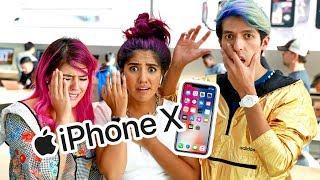 NOS ARREBATARON EL ÚLTIMO IPHONE X | LOS POLINESIOS VLOG