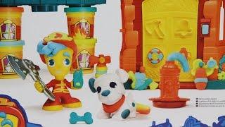 Hasbro - Play-Doh Town - Firehouse / Remiza Strażacka - B3415 - Recenzja