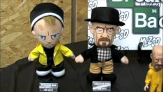 Meczo Toyz 2013. Pre Toy Fair look at the Breaking Bad Toy Line.