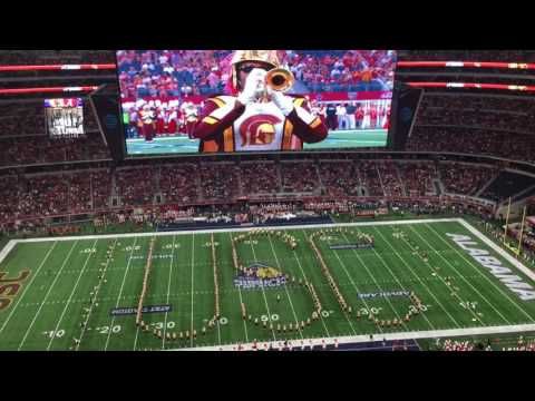 USC Trojan Marching Band Pregame 9/3/16 vs Alabama