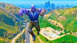 THANOS WITH INFINITY GAUNTLET (GTA 5 MOD)