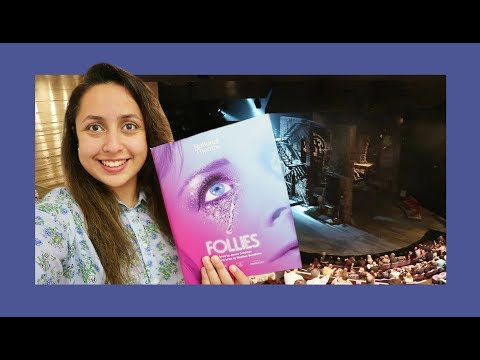 Follies starring Imelda Staunton  Vlog 2017