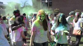 Chico State students host the celebration of colors on campus