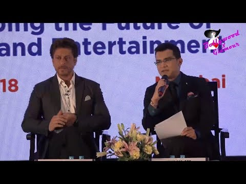 Shah Rukh Khan At Magnetic Maharashtra Media Session
