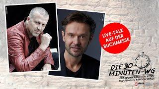 Thriller made in Austria!  Bernhard Aichner & Jan Beck   Die 30-Minuten-WG   Frankfurter Buchmesse