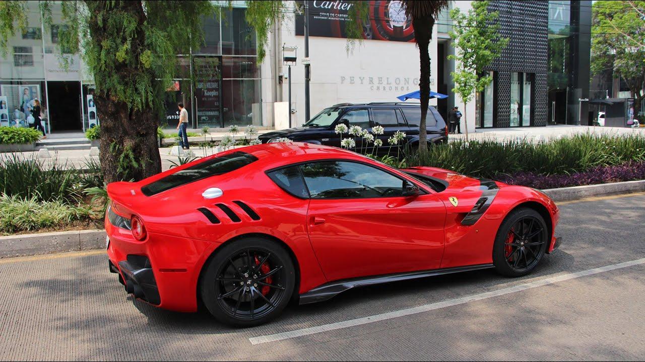 Ferrari F12 TDF - Ciudad de México (Uno de 799) - YouTube
