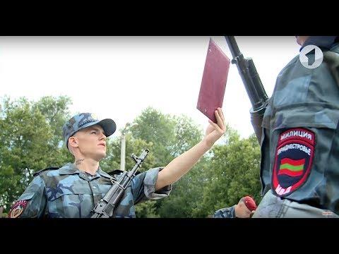 Новобранцы СМВЧ приняли воинскую присягу