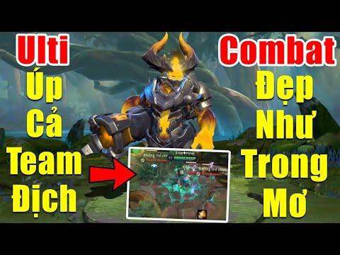 [Gcaothu] Baldum hủy diệt tất cả chỉ với ulti úp mộ nguyên cả team địch - Combat đẹp như trong mơ