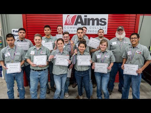 2018 SkillsUSA Auto Collision Repair Competition at Aims Community College