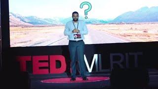 Journey into Digital Economy | Vamshi Ramadugu | TEDxMLRIT