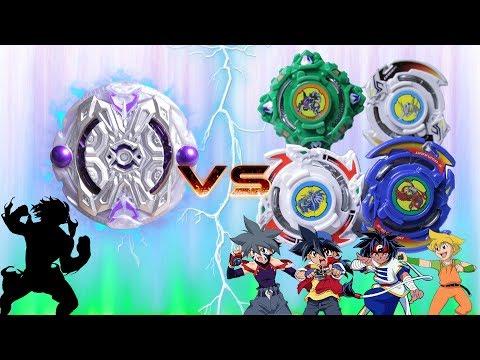 SHADOW ORICHALCUM vs BLADEBREAKERS | Beyblade Burst Team Battle ベイブレードバースト