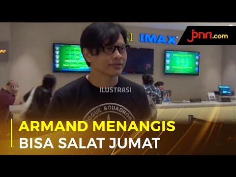 Armand Maulana Menangis Bisa Salat Jumat Lagi Pascapandemi
