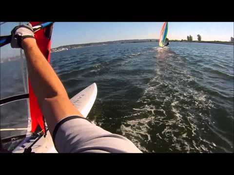Windsurfing Race #3 Jetty Island, Everett, WA 07.16.2014