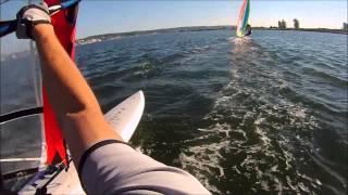 Windsurfing Race #3 Jetty Island, Everett, WA 07.16.2014