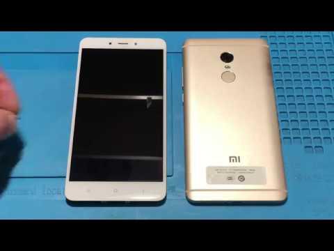 Xiaomi Redmi Note 4 не включается. Замена EMMC (флеш)
