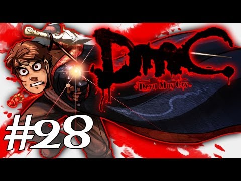 How Dante Got His Groove Back - DMC - Devil May Cry Gameplay / Walkthrough w/ SSoHPKC Part 28 - Slaves to the Word Place