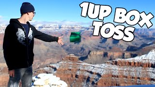 TOSSING TRASH INTO GRAND CANYON || 1Up Box [December 2015]