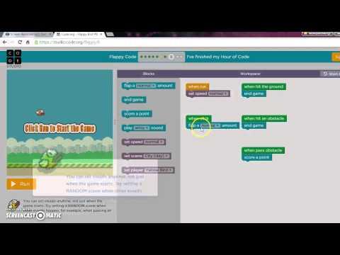 code.org/flappy bird game