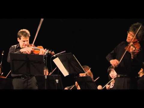 Für Japan 2012 / J. S. Bach: Konzert für zwei Violinen und Streichorchester