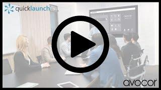 Avocor Quicklaunch PE UE Overview
