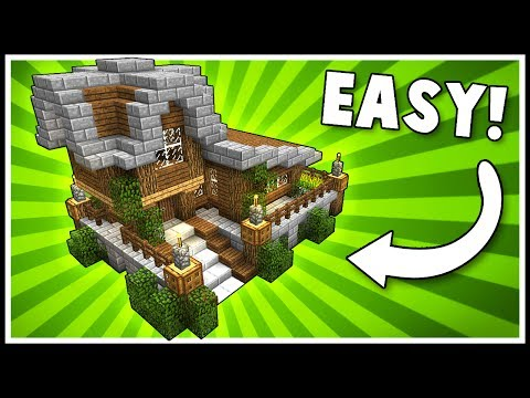 Download Youtube: SIMPLE & STYLISH SURVIVAL HOUSE! - Minecraft Tutorial