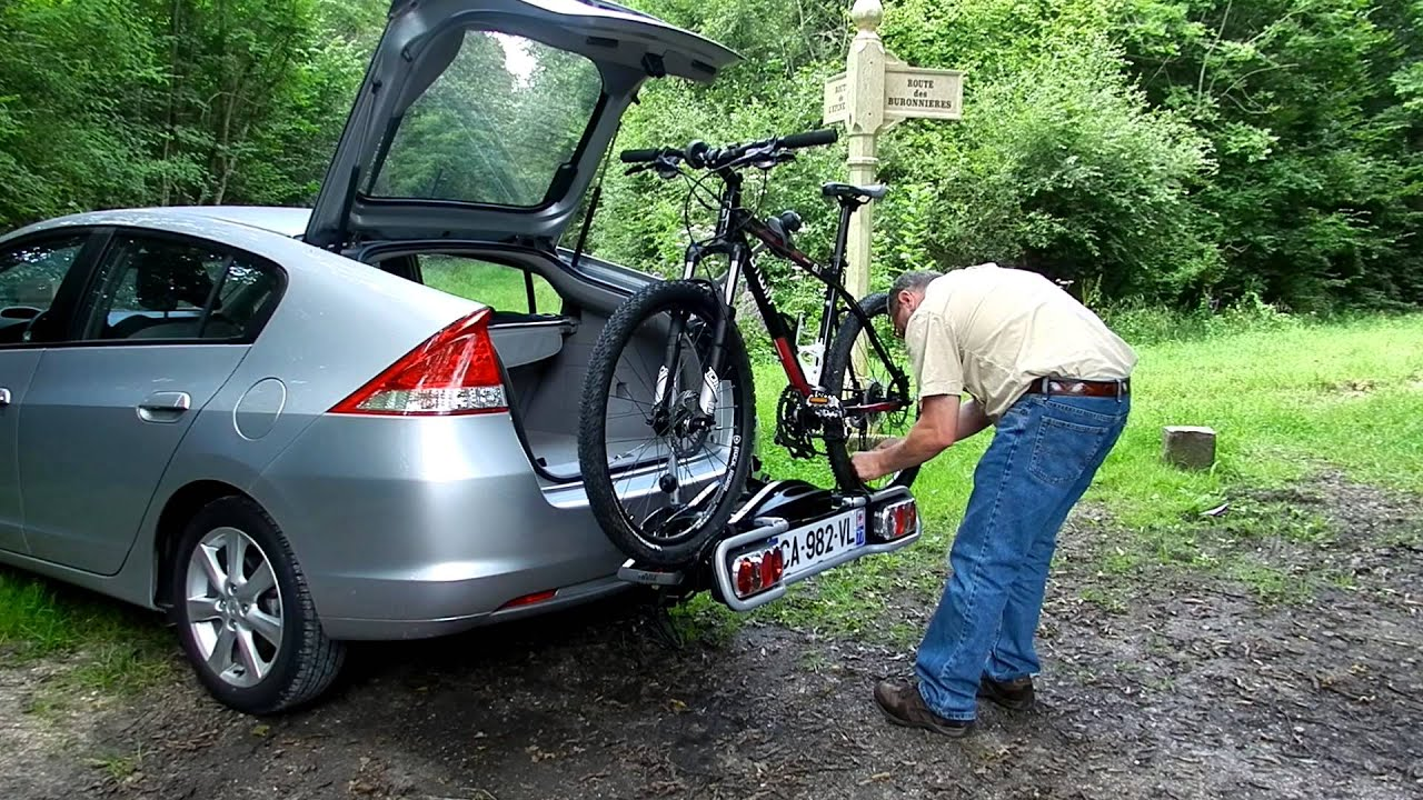 Honda Bicycle Carrier For Trailer Hitch Insight Install