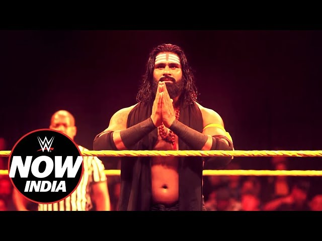Rinku Singh dedicates first win at NXT TV Taping to his mother: WWE Now India