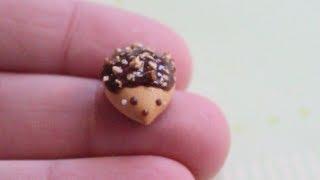 Hedgehog Cookie Charm Tutorial