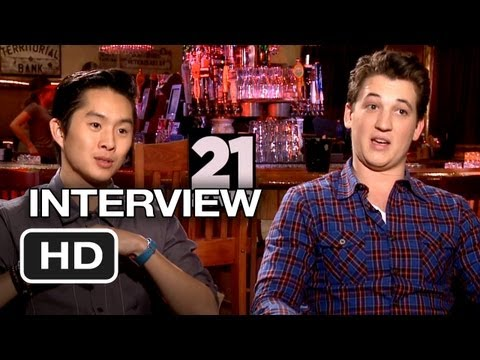 21 & Over Interview - Chon/Teller (2013) - Comedy Movie HD