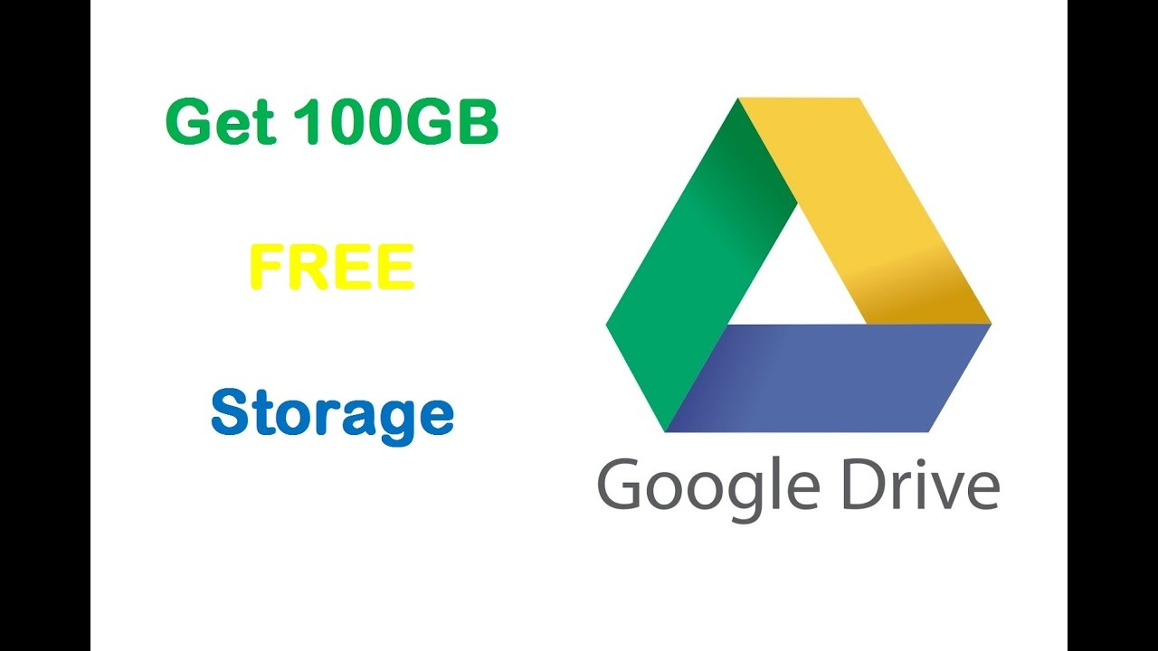 #2 Get 100GB Free Google Drive Storage