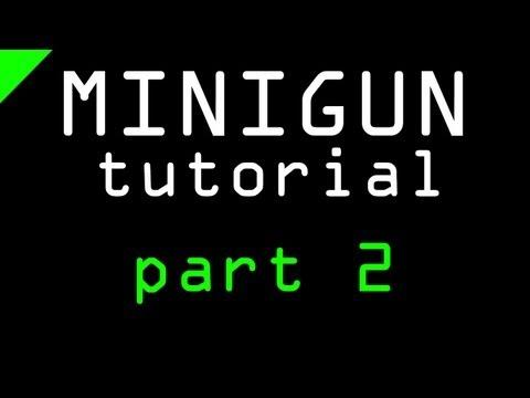Cinema 4D - Minigun Tutorial Part 2