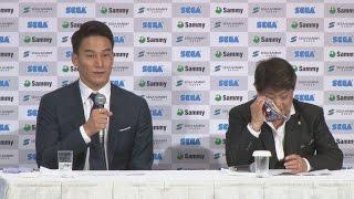 松田、涙で「悔いはない」 久世コーチと引退会見