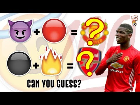 Can You Guess Every Premier League Clubs By The Emoji ? ( EMOJI QUIZ )