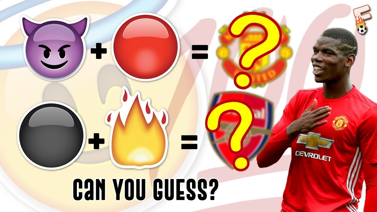 Can You Guess Every Premier League Clubs By The Emoji Emoji Quiz Youtube