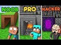 Minecraft - SECRET MAZE CHALLENGE! (NOOB vs PRO vs HACKER)