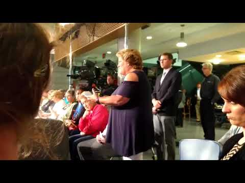 Glenn Thompson Town Hall 8/10/17 after WPSU stopped filming Part 1