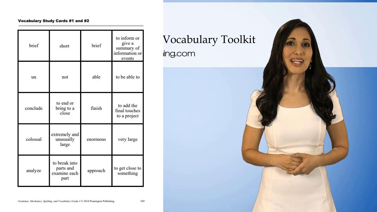 FREE Grade 4 Vocabulary Worksheets [ 720 x 1280 Pixel ]