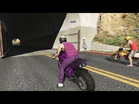GTA V ONLINE: LOS CONDUCTORS - CARRERAS (PSPLUS)