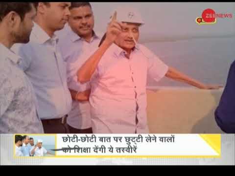 DNA: Ailing Manohar Parrikar Inspects Goa Bridge