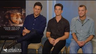 Thank You For Your Service Movie | Miles Teller, Jason Hall & Adam Schumann