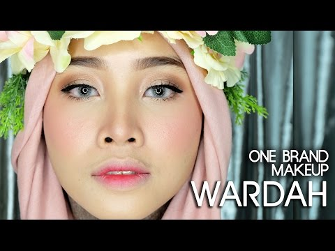 ONE BRAND MAKEUP - WARDAH | NATURAL ROMANTIC MAKEUP ( SNAPCHAT FILTER INSPIRED )+ REVIEW | IRNA DEWI